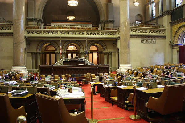 New York Assembly chambers