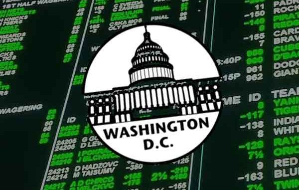 DC logo with betting lines